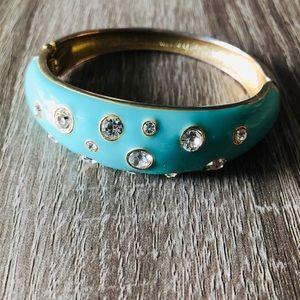 Jewelry - 💙✨ Aquamarine blue and crystal gem bracelet 💙✨